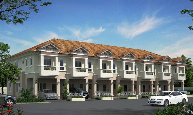 Top Photos Ideas Two Storey Townhouse Home