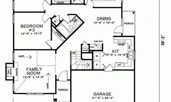Torlina Ranch Narrow Lot Home Plan House Plans