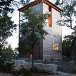 Tower Home Architecture Wood Stone