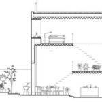 Townhouse Design Plans Modern Between Old Buildings