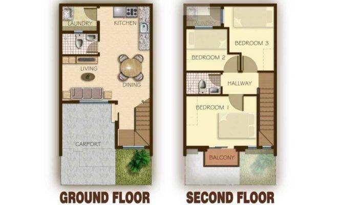 Townhouse Floor Plan Philippines