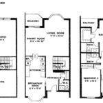Townhouse Floor Plans Idea
