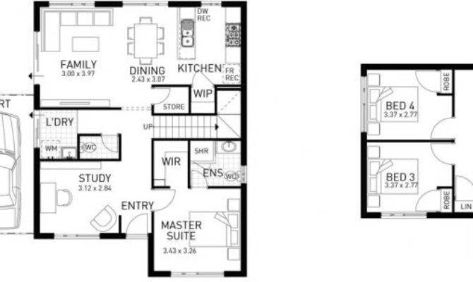 Townhouse Four Bed Two Storey Home Design Domain