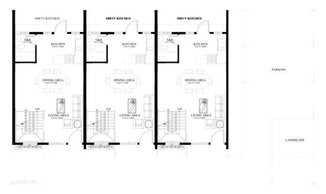 Townhouse Plans Series Php Pinoy House