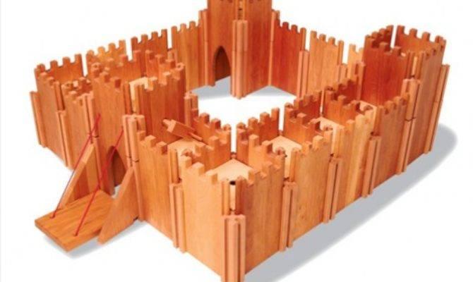 Toy Castles Forts Children Kids Wooden