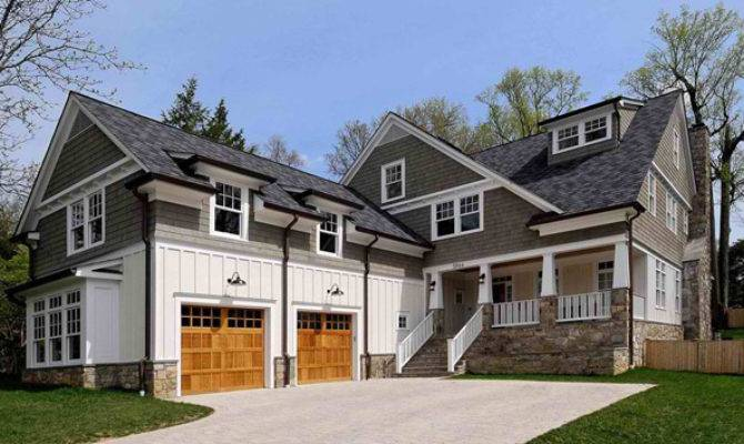 Traditional Architecture Inspired Attached Garages