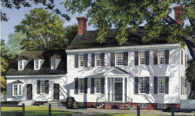 Traditional Colonial House Plans Home Design