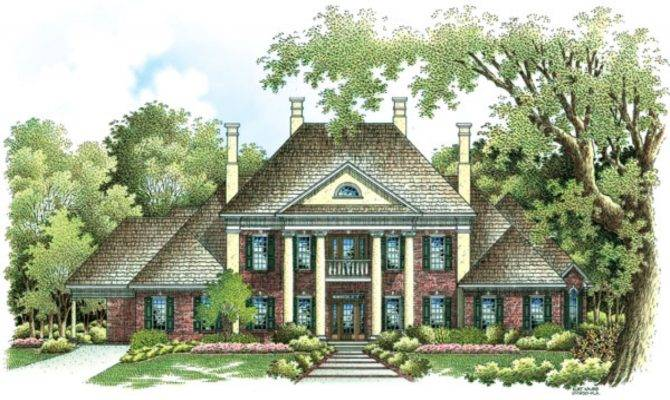 Traditional Colonial House Plans Luxury
