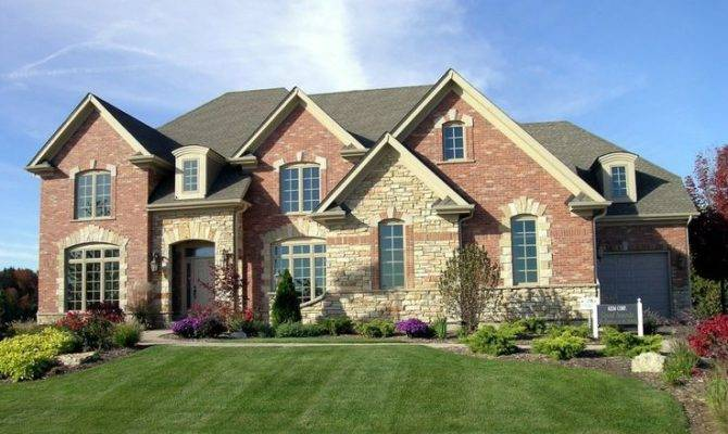 Traditional Exterior Brick Stone Home Channel
