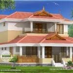Traditional Home Elevation Kerala Design Floor Plans