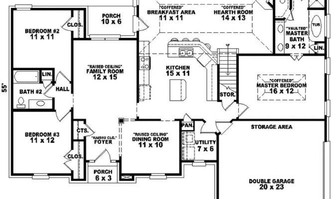 Traditional House Floor Plans Homes