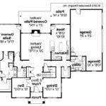 Traditional House Plan Fairbanks Floor
