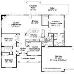 Traditional House Plan Green Valley Floor