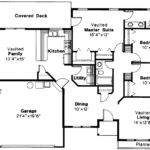 Traditional House Plan Jerico Floor