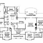 Traditional House Plan Monticello Floor