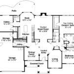 Traditional House Plan Parkcrest Floor