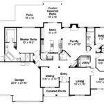 Traditional House Plan Spencer Floor