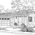 Traditional House Plans Garage Office Associated Designs