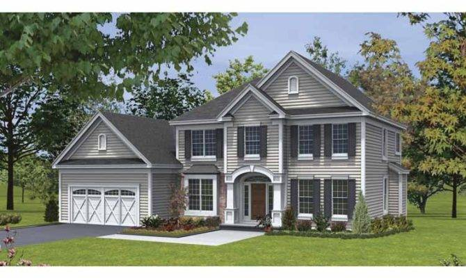 Traditional House Plans Two Story Cottage