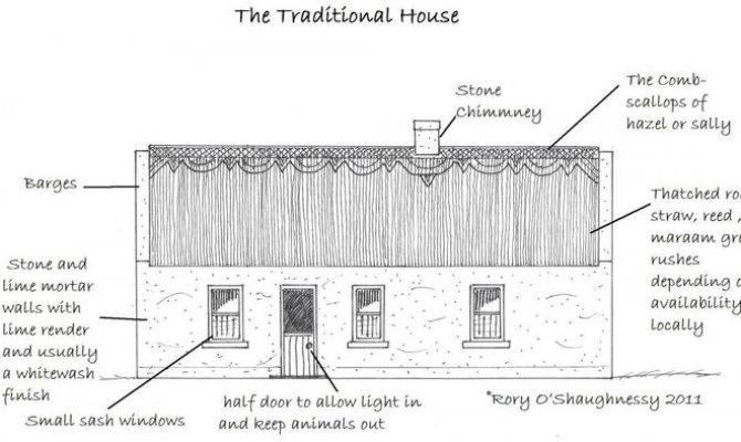 Traditional Irish Cottage Design House Irelandxo