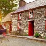 Traditional Irish Cottage House Mustang
