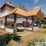 Traditional Kerala House Feet Design Plans
