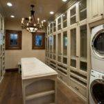 Traditional Laundry Room Walk Closet Butlers Pantry