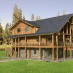 Traditional Log Home Design Coast Mountain Homes