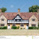 Traditional Medieval English Mansion Built Tudor Style