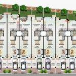 Traditional Modern Row Houses Urban Dwellings