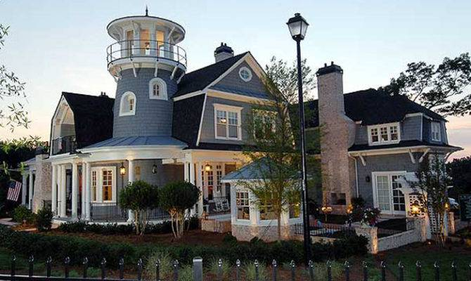 Traditional Shingle Style Classic American Cottage