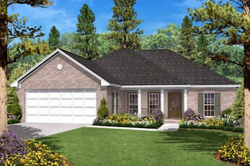 Traditional Style House Plan Beds Baths