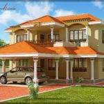 Traditional Style Kerala Home Design Square Feet