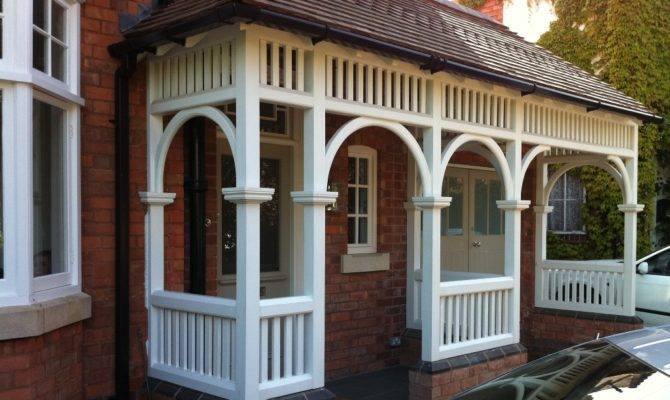 Traditional Timber Porch Crafted Conservatories