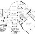 Tranquility House Plan Floor Rustic Style Plans