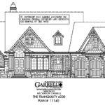 Tranquility House Plan Front Elevation Rustic Mountain Style