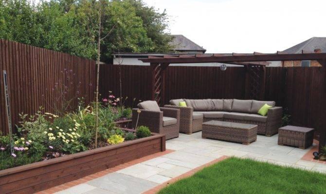 Transforming New Build Garden Lush Design