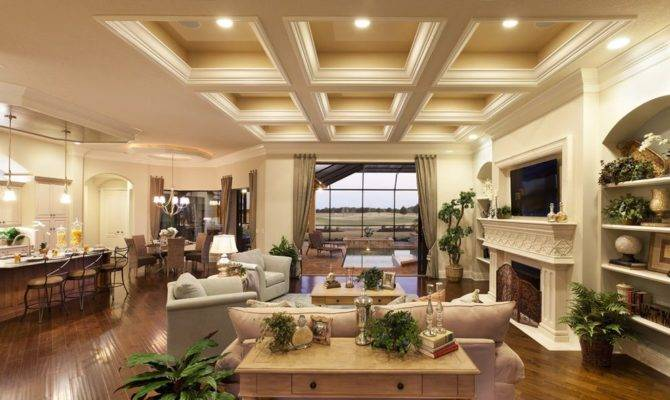 Transitional Great Room Decorating Ideas Living
