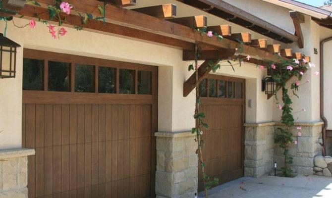 Trellis Over Garage Door Windows