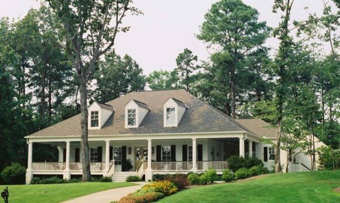 Tremendous Single Story House Plans Wrap Around Porch Decorating
