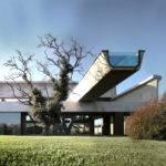 Trendy Big House Design Brilliant Roof Modern Swimming Pool