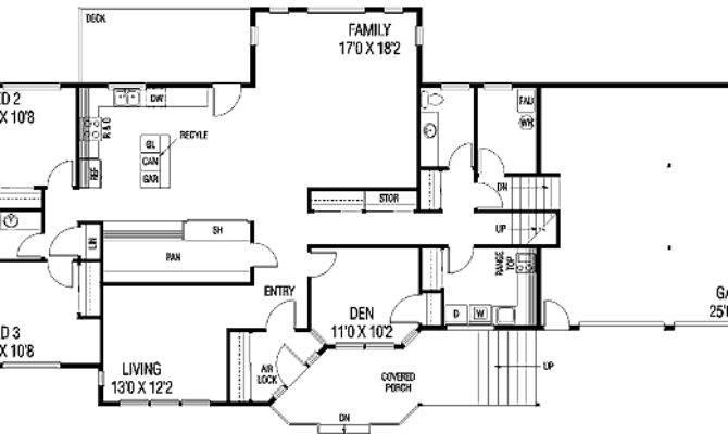 Tri Level Home Floor Plans Design Style