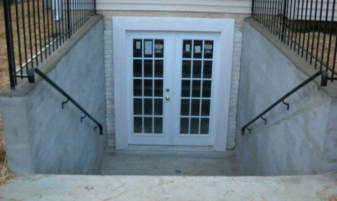 Tricks Installing Walkout Basement Doors Stone Patio