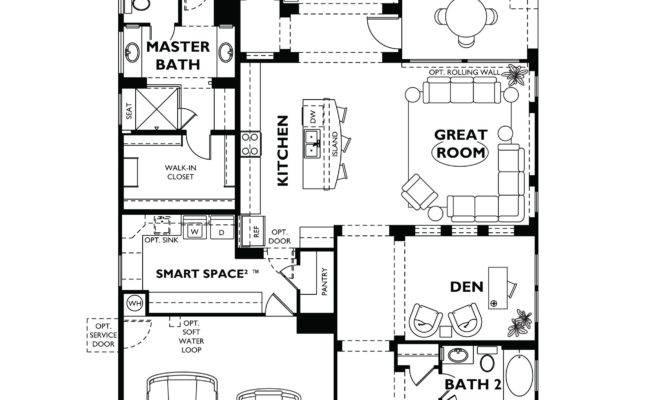 Trilogy Vistancia Nice Floor Plan Model Home Shea