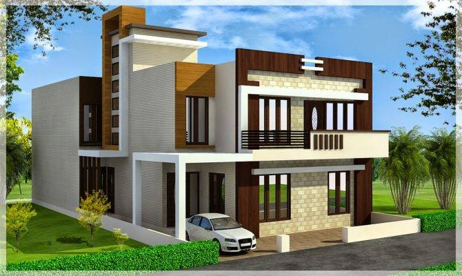 Triplex Home Designs Design