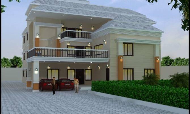 Triplex House Elevations Joy Studio Design