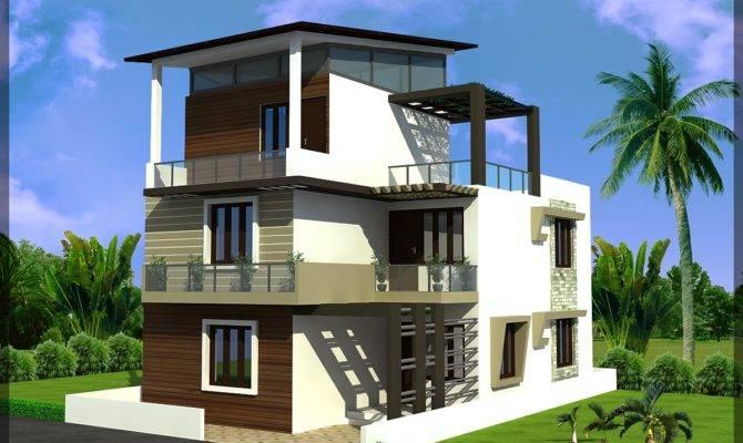Triplex House Plan Ghar Planner