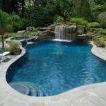 Tropical Backyard Waterfalls Allendale Cipriano