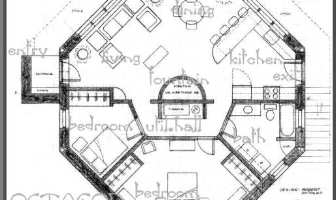 Tropical Floorplans Octagon Oasis