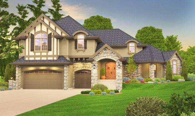 Tudor House Plans Architectural Designs